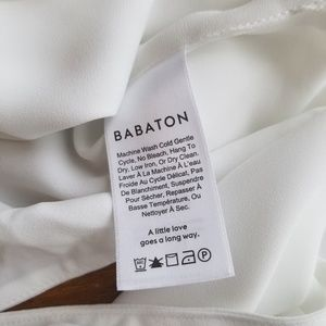 Aritzia Tops - Babaton/Aritzia cross-front tie behind cropped top